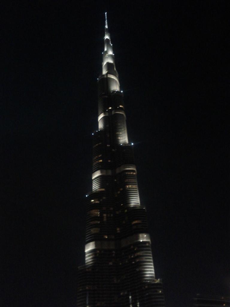 Burj Khalifa at night!